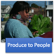 Produce to People every 2nd and 4th Thursday.